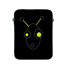 Yellow alien Apple iPad 2/3/4 Protective Soft Cases