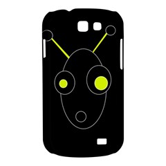 Yellow alien Samsung Galaxy Express I8730 Hardshell Case