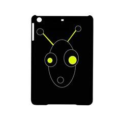 Yellow alien iPad Mini 2 Hardshell Cases