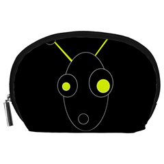Yellow alien Accessory Pouches (Large)