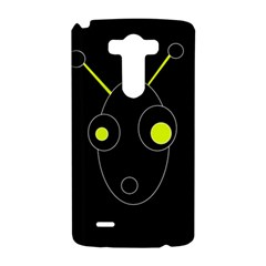 Yellow alien LG G3 Hardshell Case