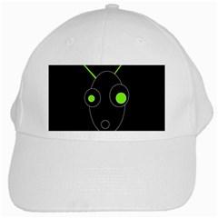 Green alien White Cap