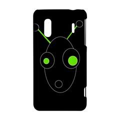 Green alien HTC Evo Design 4G/ Hero S Hardshell Case