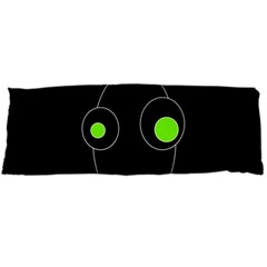 Green alien Body Pillow Case Dakimakura (Two Sides)