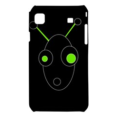 Green alien Samsung Galaxy S i9008 Hardshell Case
