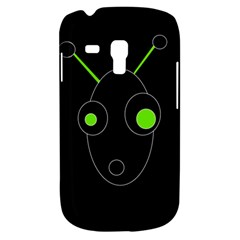 Green alien Samsung Galaxy S3 MINI I8190 Hardshell Case