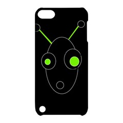 Green alien Apple iPod Touch 5 Hardshell Case with Stand
