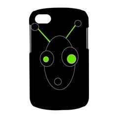 Green alien BlackBerry Q10