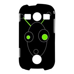 Green alien Samsung Galaxy S7710 Xcover 2 Hardshell Case