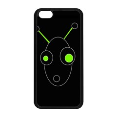 Green alien Apple iPhone 5C Seamless Case (Black)