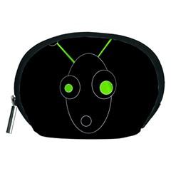 Green alien Accessory Pouches (Medium)