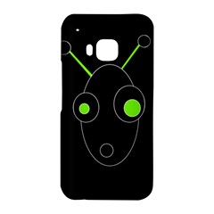 Green alien HTC One M9 Hardshell Case