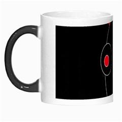Red alien Morph Mugs