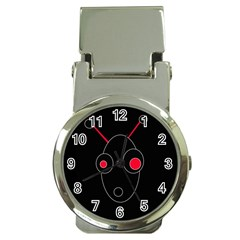 Red alien Money Clip Watches