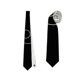 Red alien Neckties (Two Side)
