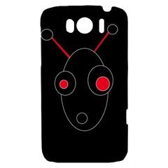 Red alien HTC Sensation XL Hardshell Case