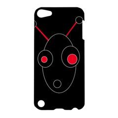 Red alien Apple iPod Touch 5 Hardshell Case