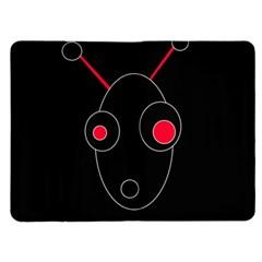 Red alien Kindle Fire (1st Gen) Flip Case