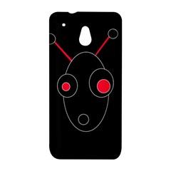 Red alien HTC One Mini (601e) M4 Hardshell Case