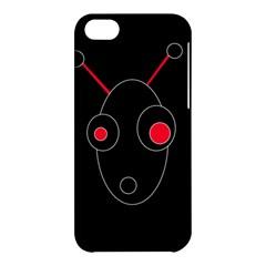 Red alien Apple iPhone 5C Hardshell Case