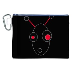 Red alien Canvas Cosmetic Bag (XXL)