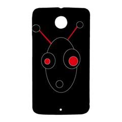 Red alien Nexus 6 Case (White)