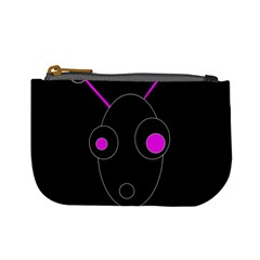 Purple alien Mini Coin Purses