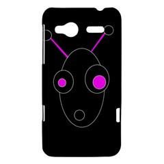 Purple alien HTC Radar Hardshell Case