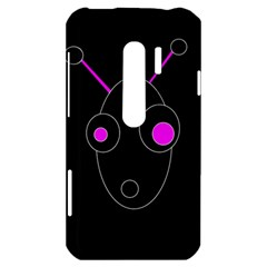 Purple alien HTC Evo 3D Hardshell Case