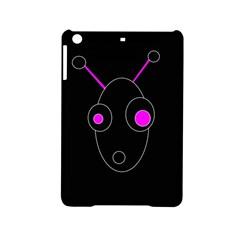Purple alien iPad Mini 2 Hardshell Cases