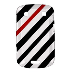 Red, black and white lines Bold Touch 9900 9930
