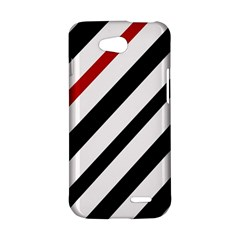 Red, black and white lines LG L90 D410