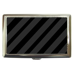 Gray and black lines Cigarette Money Cases