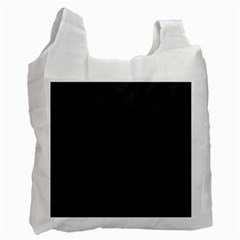 Gray and black lines Recycle Bag (Two Side)