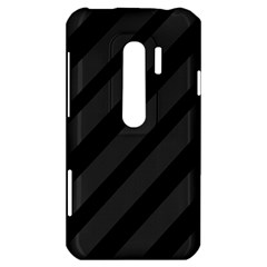 Gray and black lines HTC Evo 3D Hardshell Case