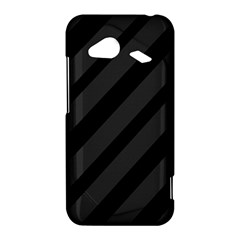 Gray and black lines HTC Droid Incredible 4G LTE Hardshell Case