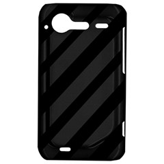 Gray and black lines HTC Incredible S Hardshell Case