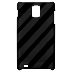 Gray and black lines Samsung Infuse 4G Hardshell Case