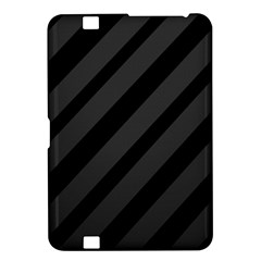 Gray and black lines Kindle Fire HD 8.9
