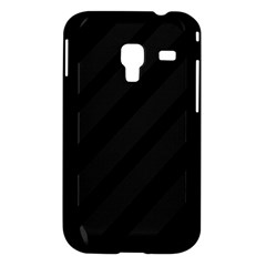 Gray and black lines Samsung Galaxy Ace Plus S7500 Hardshell Case