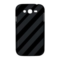 Gray and black lines Samsung Galaxy Grand DUOS I9082 Hardshell Case