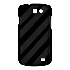 Gray and black lines Samsung Galaxy Express I8730 Hardshell Case
