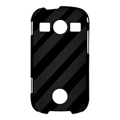Gray and black lines Samsung Galaxy S7710 Xcover 2 Hardshell Case