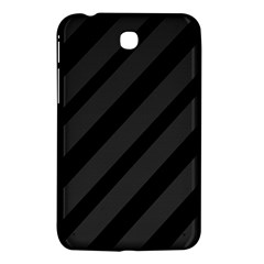 Gray and black lines Samsung Galaxy Tab 3 (7 ) P3200 Hardshell Case
