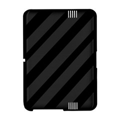 Gray and black lines Amazon Kindle Fire (2012) Hardshell Case
