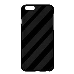 Gray and black lines Apple iPhone 6 Plus/6S Plus Hardshell Case