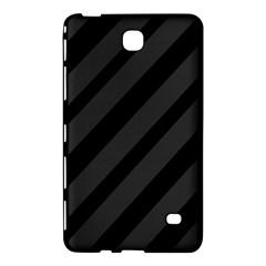 Gray and black lines Samsung Galaxy Tab 4 (7 ) Hardshell Case