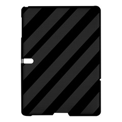 Gray and black lines Samsung Galaxy Tab S (10.5 ) Hardshell Case