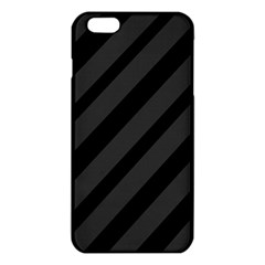 Gray and black lines iPhone 6 Plus/6S Plus TPU Case