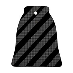 Black and gray lines Ornament (Bell)